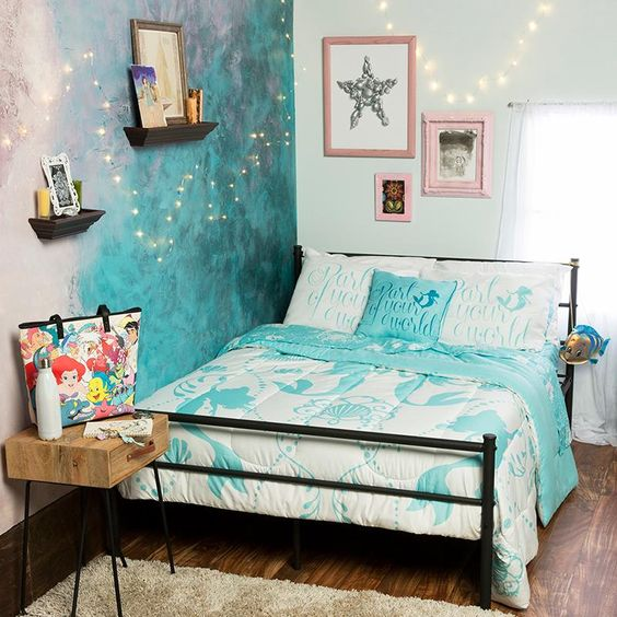Mermaid Bedroom Ideas for Girls 18-min
