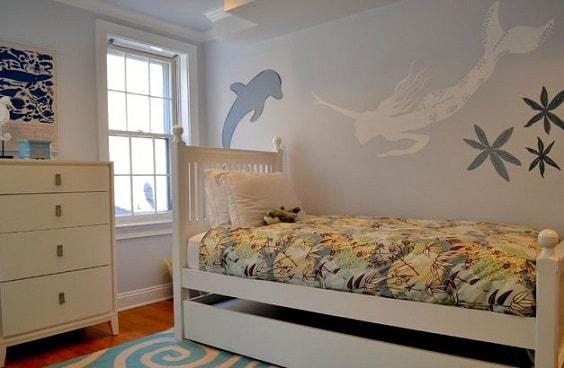 Mermaid Bedroom Ideas for Girls 19-min