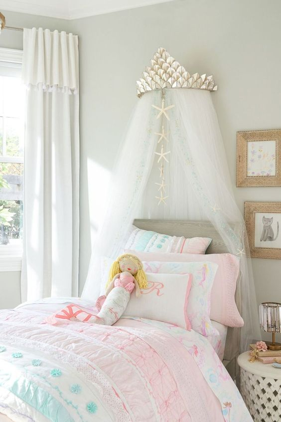 Mermaid Bedroom Ideas for Girls 2-min