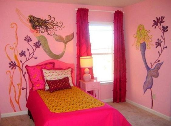 Mermaid Bedroom Ideas for Girls 21-min