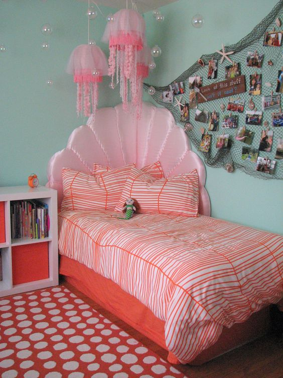 Mermaid Bedroom Ideas for Girls 23-min