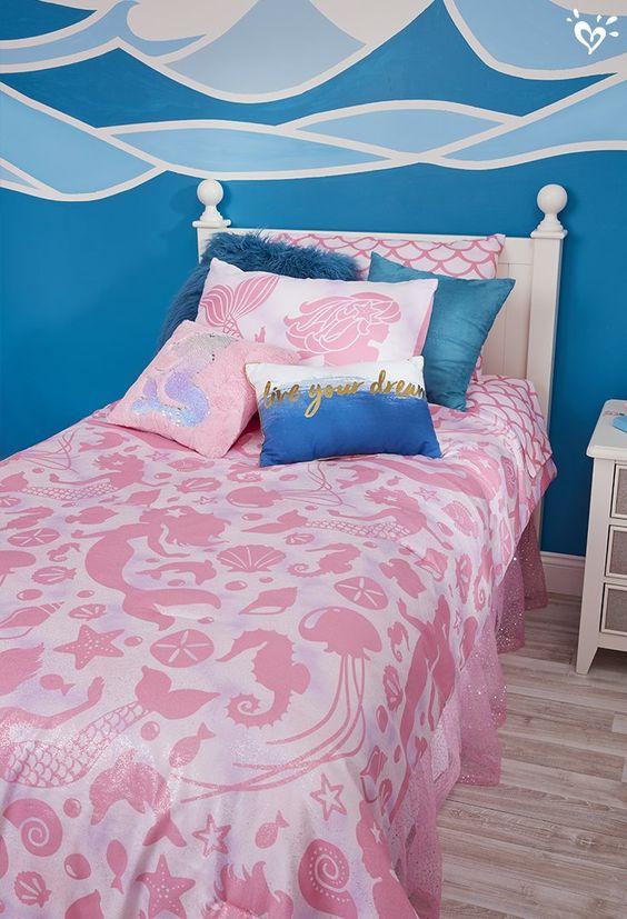 Mermaid Bedroom Ideas for Girls 25-min