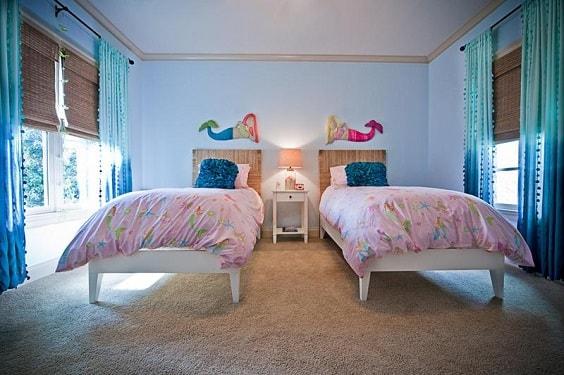 Mermaid Bedroom Ideas for Girls 3-min