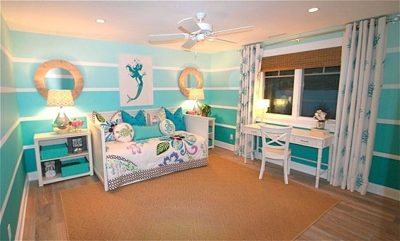 Mermaid Bedroom Ideas for Girls 4-min