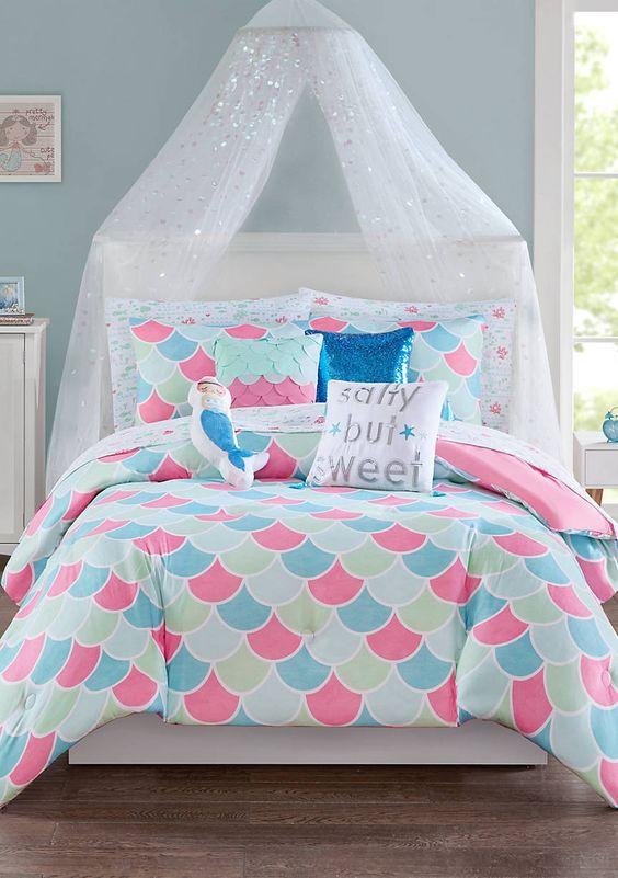 Mermaid Bedroom Ideas for Girls 7-min