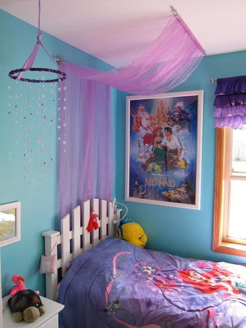 Mermaid Bedroom Ideas for Girls 8-min