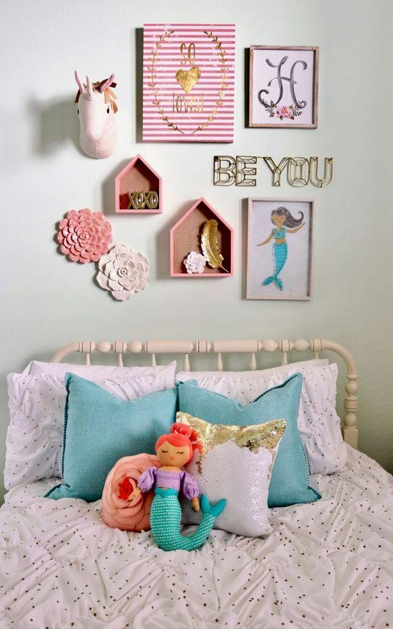 Mermaid Bedroom Ideas for Girls 9-min