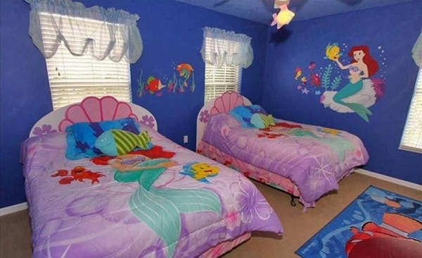 Mermaid Bedroom Ideas for Girls features-min