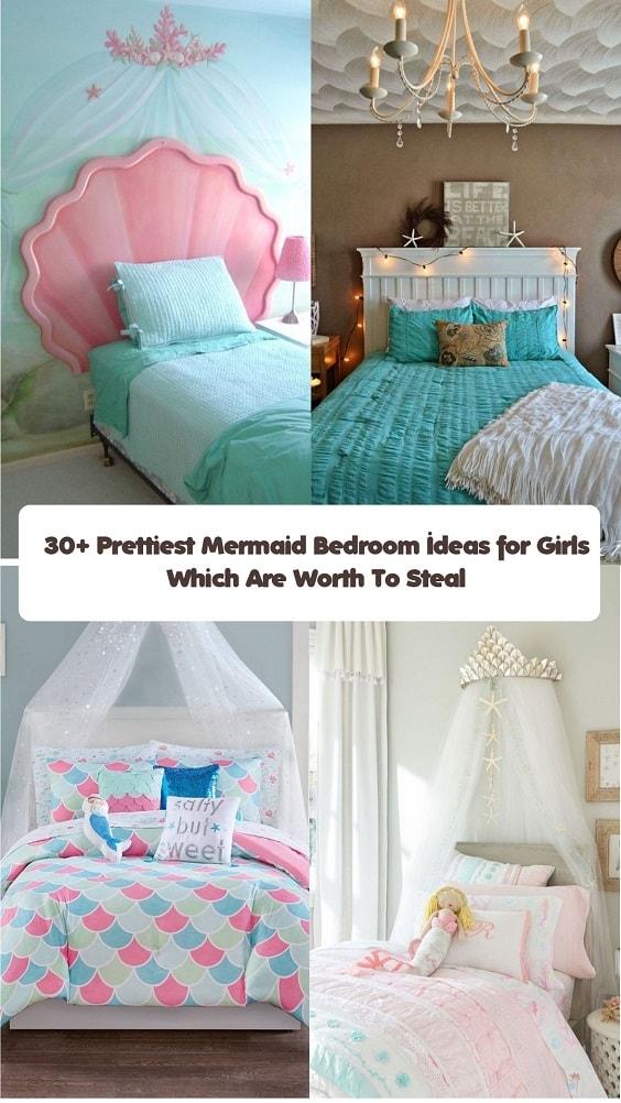 Mermaid Bedroom Ideas for Girls-min