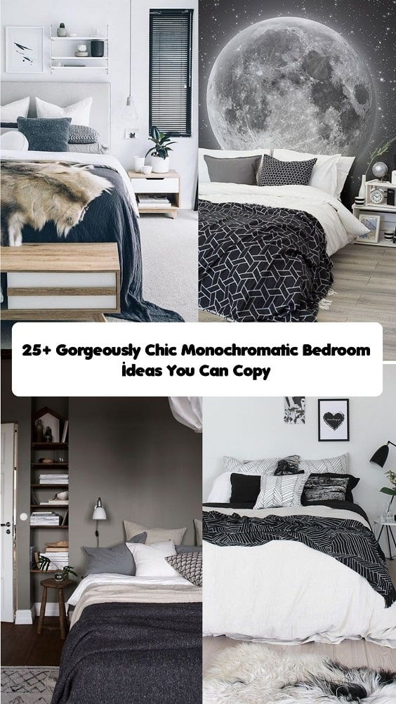 Monochromatic Bedroom Ideas-min