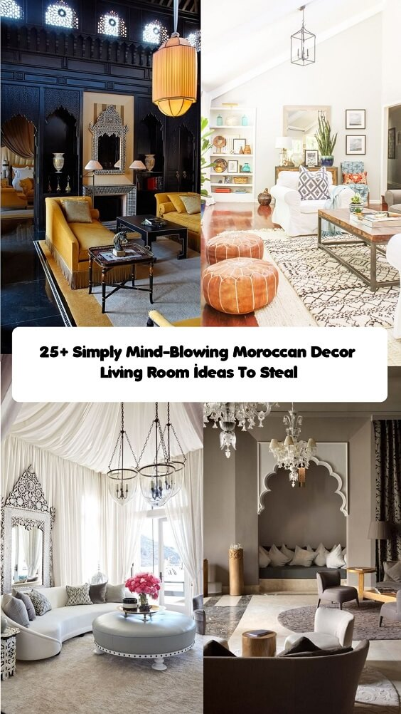 Moroccan Decor Living Room (1)