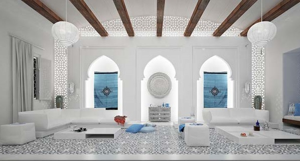 Moroccan Decor Living Room feature