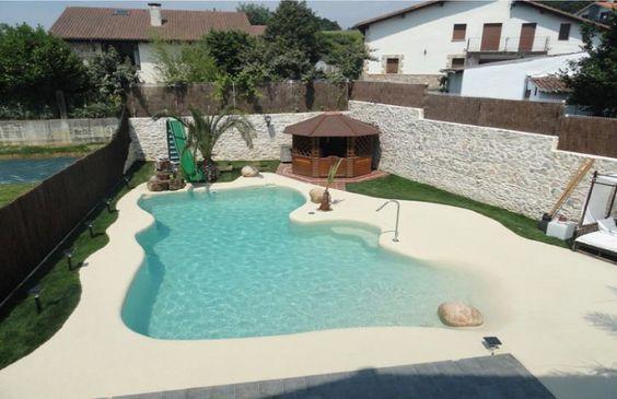 beach entry pool ideas 19