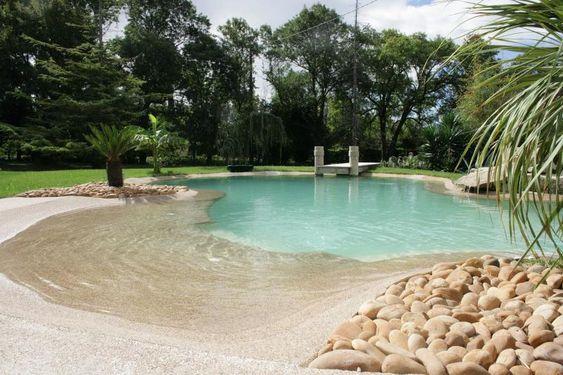 beach entry pool ideas 26