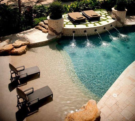beach entry pool ideas 6