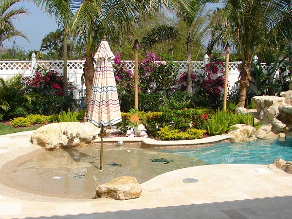 25+ Mind-Blowing Beach Entry Pool Ideas To Enhance Your Home