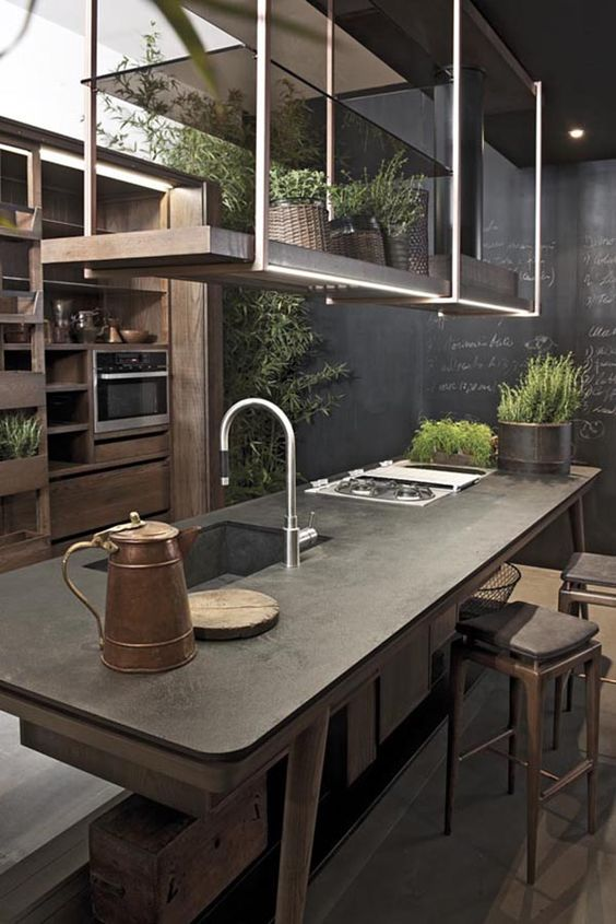 concrete kitchen 1