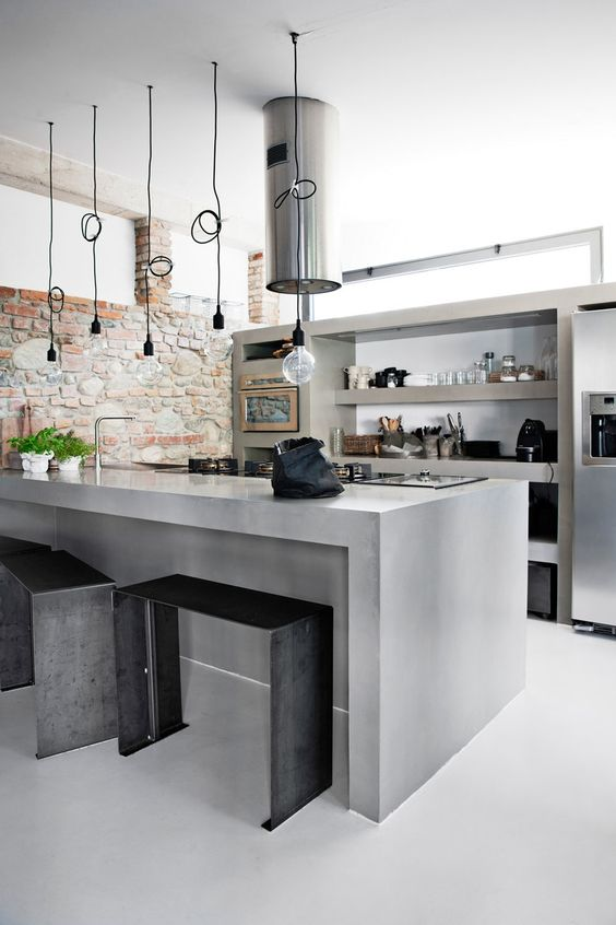 concrete kitchen 24