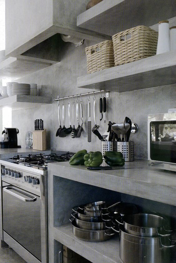 concrete kitchen 3