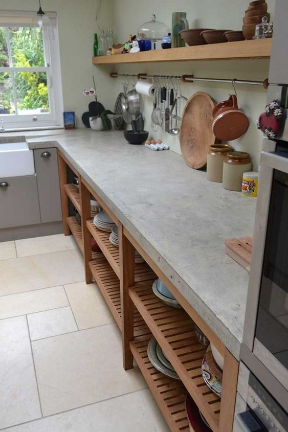concrete kitchen 8