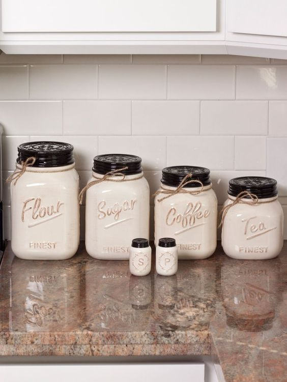 diy kitchen canister 13