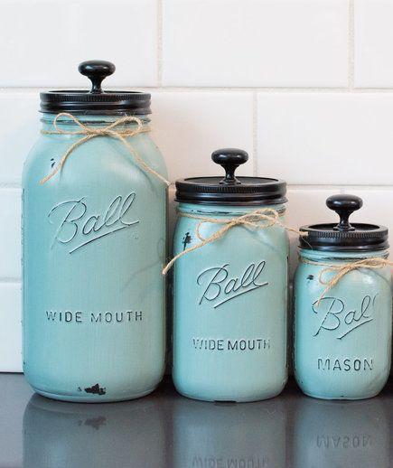 diy kitchen canister 3