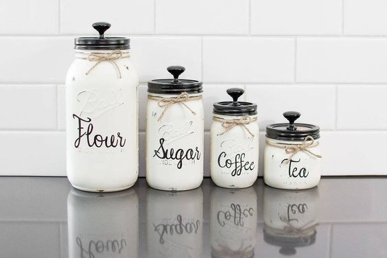 diy kitchen canister 4