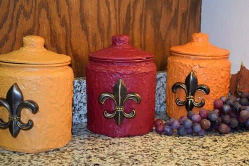 diy kitchen canister 6