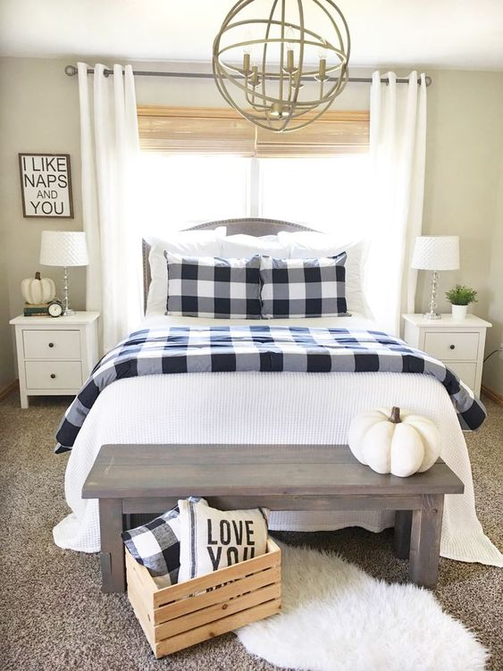 farmhouse bedroom decor 24