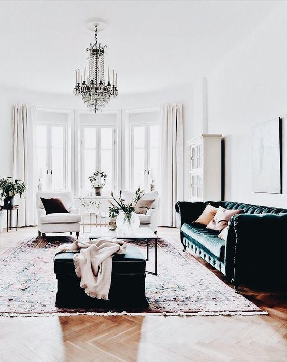 glamor living room 1