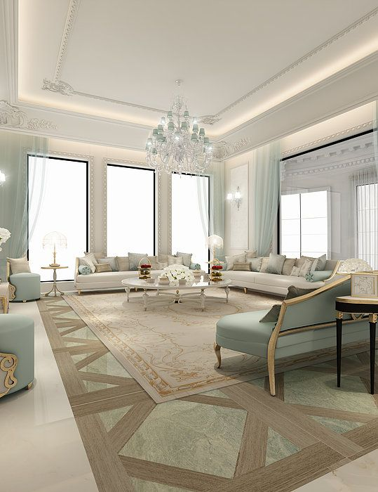 glamor living room 19