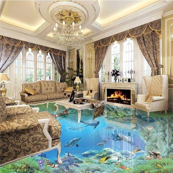 glamor living room 22