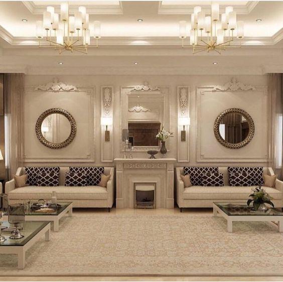 glamor living room 24