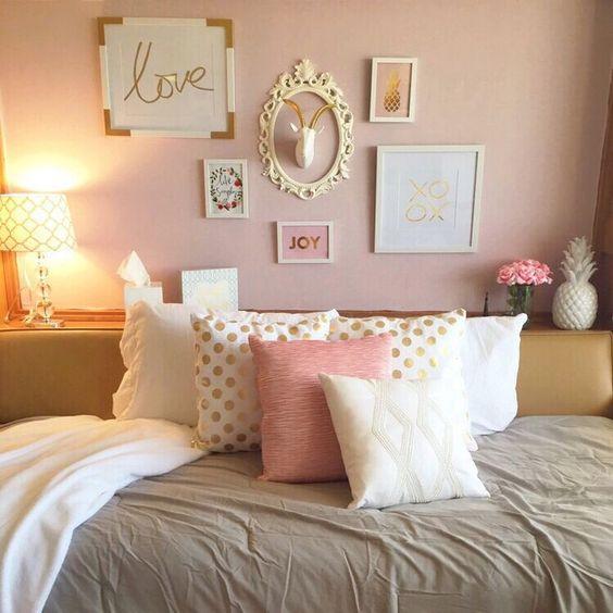 gold bedroom 1