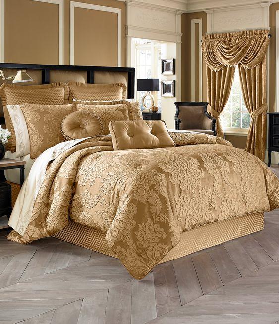 gold bedroom 16