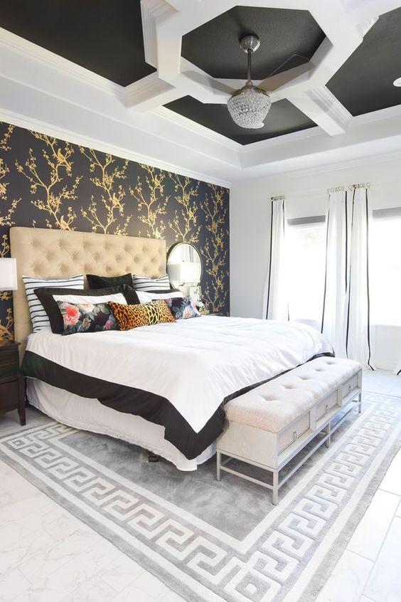 gold bedroom 20