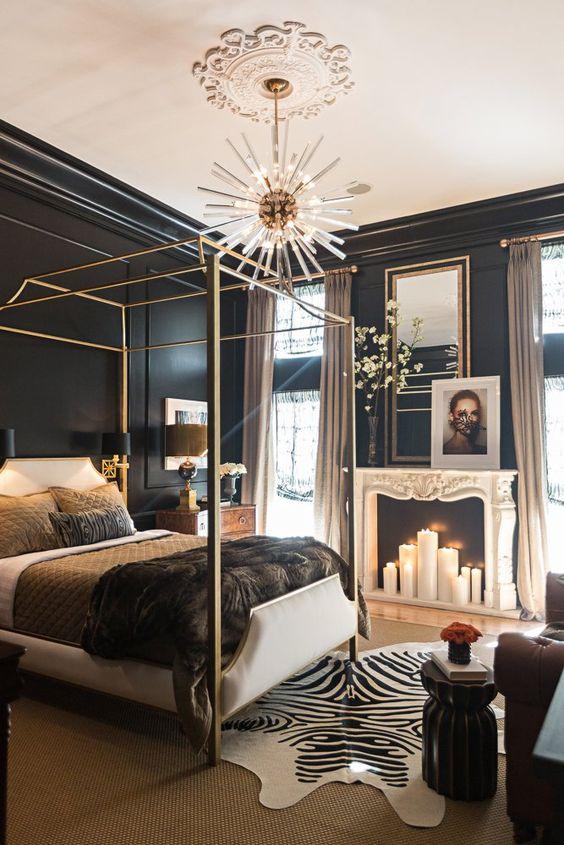 gold bedroom 24