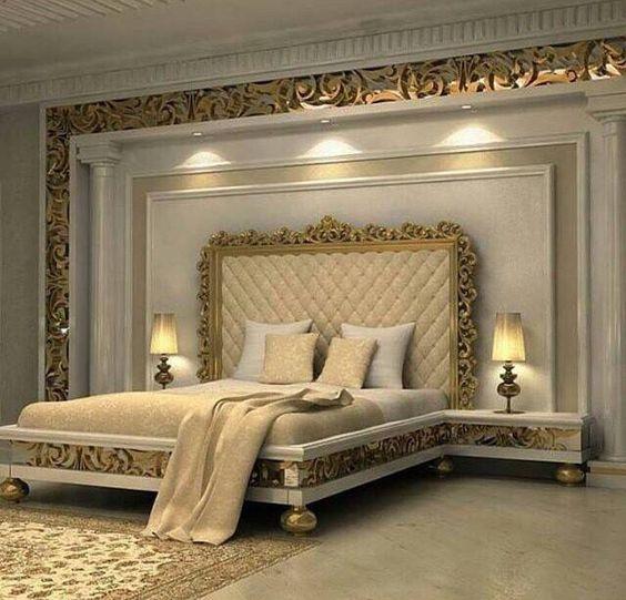 gold bedroom 8