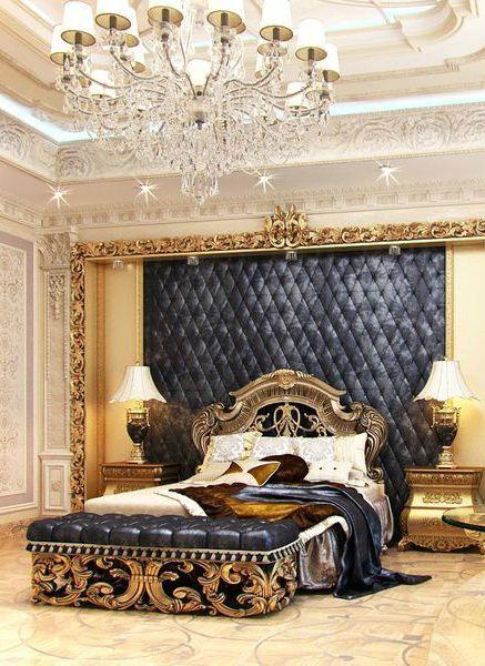 gold bedroom 9