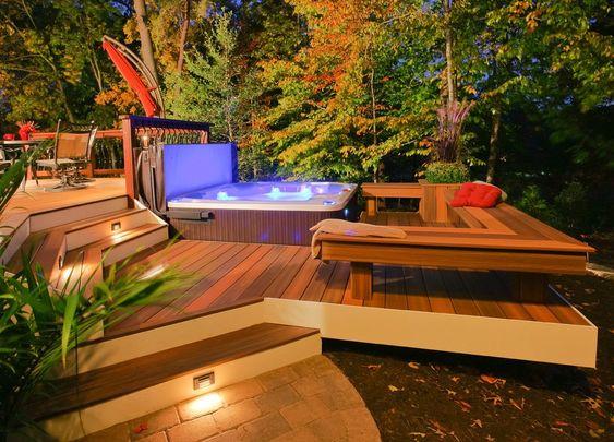 hot tub area ideas 4