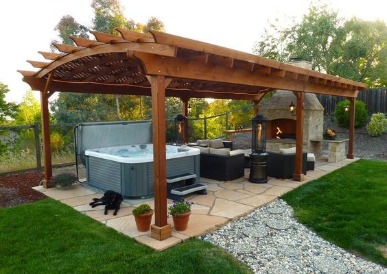 hot tub gazebo 5