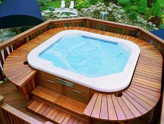 hot tub under deck 13