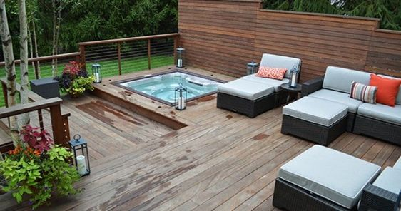 hot tub under deck 15