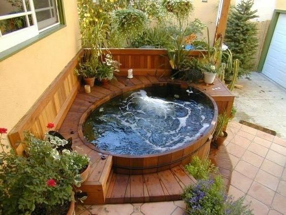 hot tub under deck 16