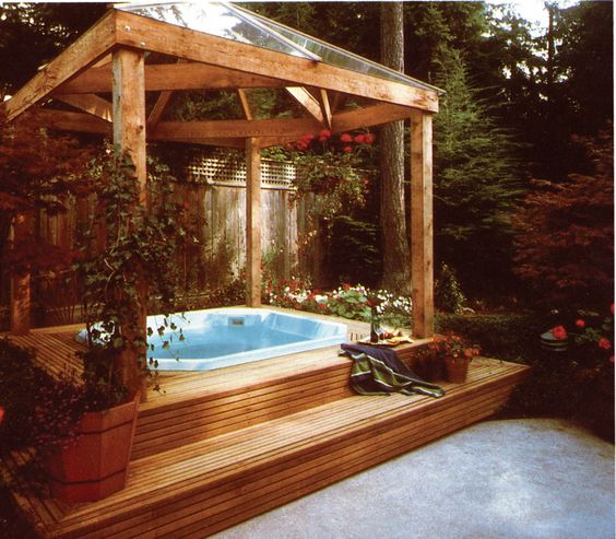 hot tub under deck 17