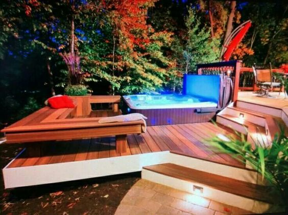 hot tub under deck 18