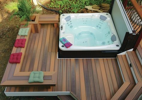 hot tub under deck 2