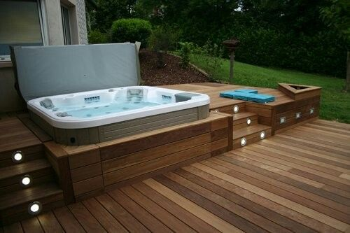 hot tub under deck 20