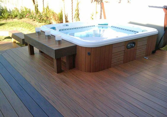 hot tub under deck 23