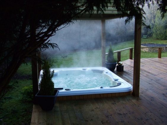 hot tub under deck 24
